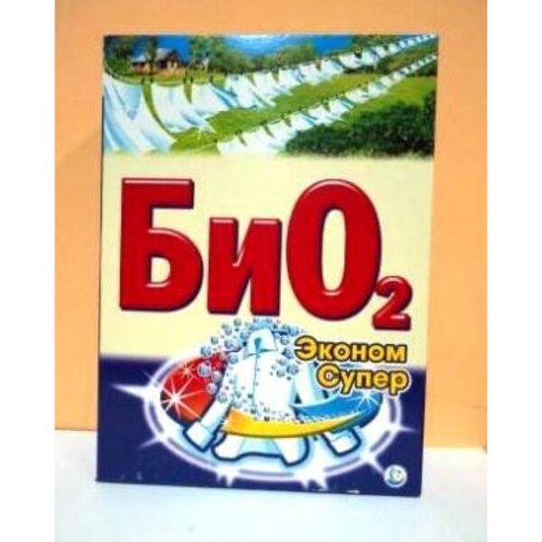 Стиральный порошок «Био 2 Супер Эконом» 400гр /30/ 1