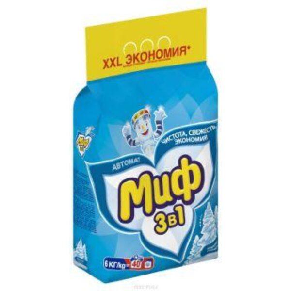 Стиральный порошок Миф автомат 6кг (для цветного) 1